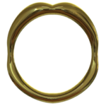 Cockring gold